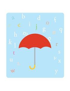 Umbrella print