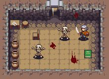 Dungeon for a roguelike