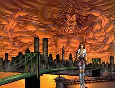Image of Michael Turner (Witchblade - Comic Vine - Marvel crossover Michael Turner, Comic Books Art, Comic Art, Magnum Opus, Mephisto, Image Comics, Silver Surfer, Guardians Of The Galaxy, Great Artists