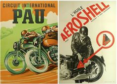 Vintage Posters - The Las Vegas Motorcycle Sale