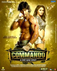 Vidyut Jamwal is trained in many martial arts forms (including Kalaripayatu) and he performed dare-devil stunts without dupe in Commando.