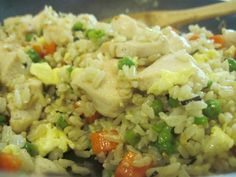 Use leftover brown rice to get crispy fried rice in 10 minutes.