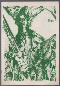 Vintage Issue for October 1975 of the Fantasy Fanzine AMRA Pournelle , Wagner