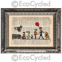 Hey, I found this really awesome Etsy listing at http://www.etsy.com/listing/129911435/winnie-the-pooh-and-friends-on-vintage