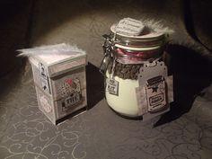 Cagette cadeau gourmande réalisée en scrapbooking : Boîtes, coffrets par la-boutique-de-nana