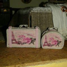Dollhouse set maletas esc 1/12