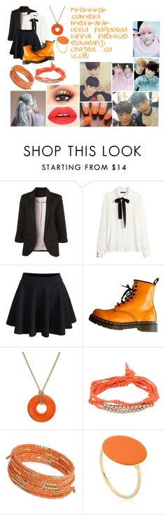 """""""Inspired by: Hide N Seek- Astro"""" by freakshow-trinit3 ❤ liked on Polyvore featuring H&M, WithChic, Dr. Martens, Charter Club, Chan Luu, Dorothy Perkins and Isabel Marant"""