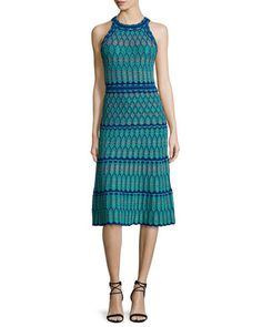 Sleeveless Crochet Dress, Mint by M Missoni at Neiman Marcus.