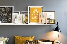 Bilderesultat for bildelist Floating Shelves, Beautiful Homes, Interior Design, Decorations, Spaces, Inspiration, Home Decor, Projects To Try, Poster
