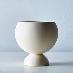 white covas planter | Light & Ladder | Food52 | $60