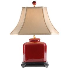 Oxblood Red Porcelain Rectangular Table Lamp East Enterprises http://www.amazon.com/dp/B001QFCHOA/ref=cm_sw_r_pi_dp_a2O6ub1N7Z6KY
