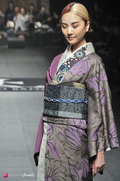140319-7780 - Autumn/Winter 2014 Collection of Japanese fashion brand JOTARO SAITO on March 19, 2014, in Tokyo.