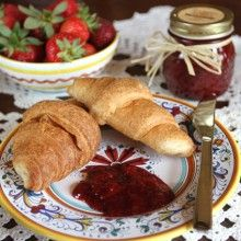 Strawberry Balsamic Jam With & Without Black Pepper