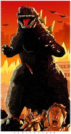 Godzilla by Pablo Mayer
