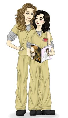 Orange is the New Black - Nicky Nichols and Lorna Morello