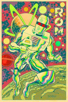 tomscioli:    Rom drawing by Tom Scioli
