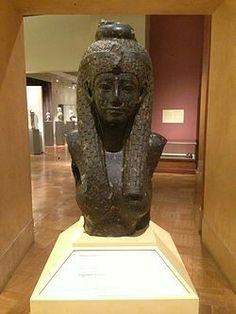 The Bust of Cleopatra VII is a granite bust currently on display in the Gallery of Ancient Egypt at the Royal Ontario Museum (ROM).It is believed to have been discovered in Alexandria, Egypt at the site of Cleopatra's Sunken Palace on the island of Antirhodos.