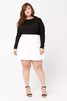 Plus Size Skater Skirt | Forever21