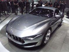 Maserati Alfieri Concept - 2014 Geneva Auto Show