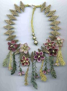 margo field: beads, braiding - crafts ideas - crafts for kids