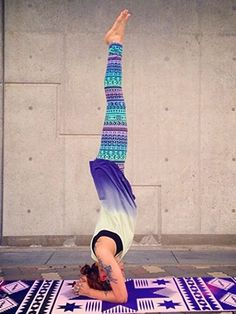 Tribal Chakra Yoga Mat: Violet