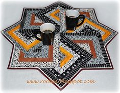 Card Tricks table topper picture tutorial