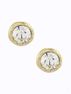 Simple Crystal Studs - Buy From ShopDesignSpark.com