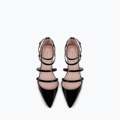 FLAT COURT SHOE WITH ANKLE STRAP-New this week-Woman-COLLECTION AW15 | ZARA United States