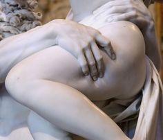 Gian Lorenzo Bernini, detail of Pluto and Proserpina (The Rape of Proserpina), 1621-22.