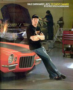 Dale Jr. in Hot Rod Magazine