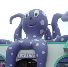 Gulf Shores Alabama Purple Octopus gift shop. Nice store/ One can also get personalized t-shirts made here, too.