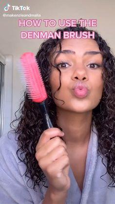Mixed Curly Hair, Curly Hair Tips, Curly Hair Care, Natural Hair Care, Wavy Hair, Curly Hair Styles, Natural Hair Styles, Big Curly Hair, Cute Curly Hairstyles