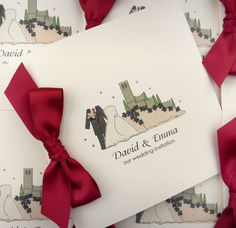 Malcesine Castle invitations (style 4) £3.50