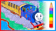 Thomas the Tank Engine  - Coloring and Learn Colors with Thomas and Friends
