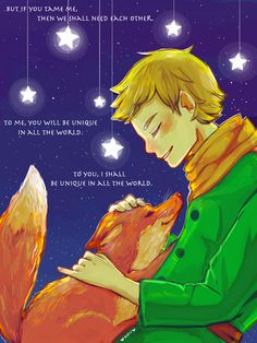 So, who also cried while watching the little prince? DON'T LIE, EVERYBODY RAISE YOUR HAND (ಥ﹏ಥ)/ #pwgallery #thelittleprince #fox #fanart