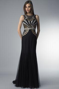 Art Deco Evening Gowns | ... login womens apparel evening dresses art deco evening dress by basix