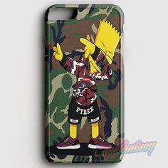 Bart Simpson Dab iPhone 6/6S Case   casefantasy