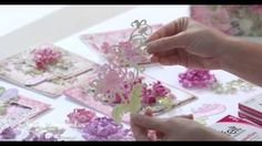 The EZ way to use your Paper Curling tip to shape the stunning Enchanted Mums!