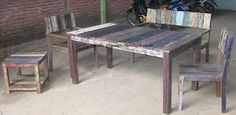 Clearance Centre Recycled Boat Furniture - traditional - coffee tables - other metro - by Gogreen multitrading furniture Ind.