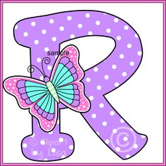 Alphabet letters clipart 2