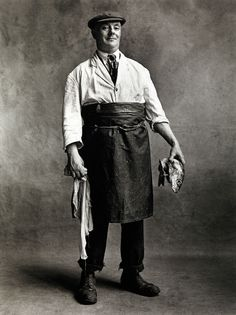 Irving Penn. 'Fishmonger, London, 1950'