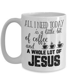 Christian mugs/ christmas mugs with God Jesus bible verses christian ...