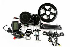 Bafang 48V 750W Mid-Drive Motor E-Bike Conversion Kit With Integrated Controller #Bafang