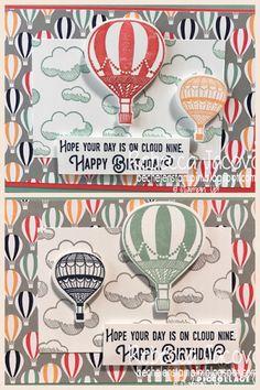 ESAD 2017 Occasions catalogue and Sale-a-bration Sneak peak Blog Hop:                   Same paper just different ink colours changes it f...