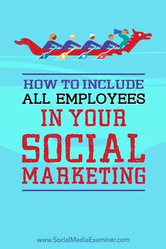 Your company��s social media reach can grow dramatically if all of your employees are helping to spread your message.