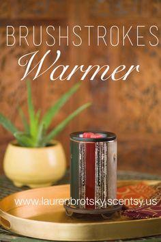 Brushstrokes Warmer www.laurenbrotsky.scentsy.us