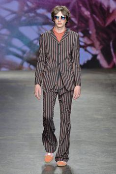Topman Spring 2015 Menswear  #Listrados #Alfaiatarias #FocusTextil