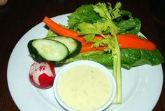Dipping Salad from #Hyatt's new For Kids By Kids menu.