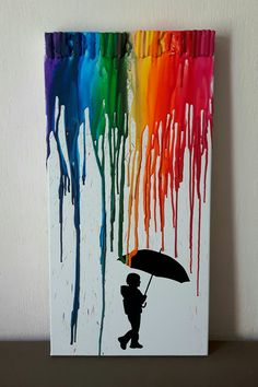 Silhouette of little boy with umbrella julegave ide pinterest schattenbilder papierkunst - Schattenbilder selber machen ...