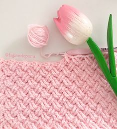 Crochet: punto celta paso a paso . Crochet Celtic Stitch
